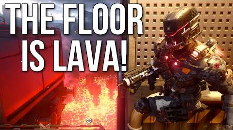 THE FLOOR IS LAVA! Call of Duty Black Ops 3 RIFT Gameplay (DLC2 Eclipse)