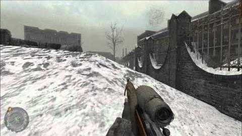 "Call of Duty 2- Mission 2 Demolition ""Veteran mode"""