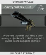 Gravity Vortex Gun Unlock Card IW