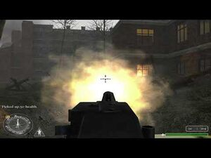 Call of Duty (2003) - Train Station (Russian Missions) -4K 60FPS-