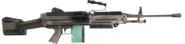 M249 SAW 3rd person Cod4