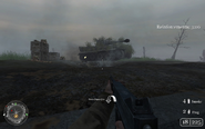 Battle For Hill 400 tank