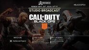 Official Call of Duty® Black Ops 4 Studio Broadcast – Operation Dark Divide