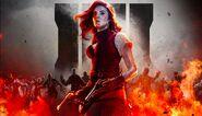 Scarlett PromotionalArt Zombies BO4