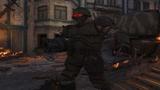 Rosyjski żołnierz zombie
