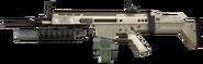SCAR-H M203 3rd person MW2