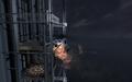 Littlebird crashing into the elevator MW3