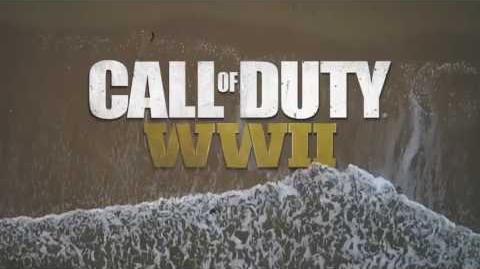 "Call of Duty WWII Official ""Beach"" Trailer Teaser"