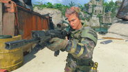 Battery third-person in-game BO4