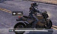 CODM мотоцикл в игре с водятлом