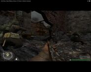 Call of Duty-Russian's attack German positions at Kharkov