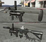 M320 grenade launcherh