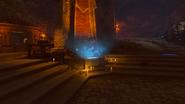 Gniew starozytnych burza grobowiec