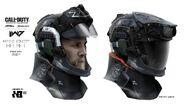 Marine helmet concept IW