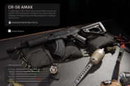 CR-56 AMAX Gunsmith Menu MW2019