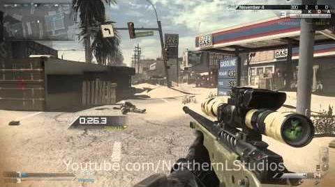 Call of Duty Ghosts - Sniper Gameplay by FaZe Kross