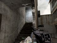 Stairs leading to balcony floor War Pig CoD4