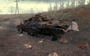 Destroyed BMP-2 Wasteland MW2