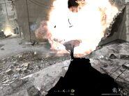 War Pig destroying russian tank War Pig CoD4