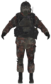 VDV gasmask soldier model MW2