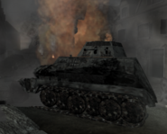 Half-Track destroyed CoD WaW FF