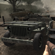 Jeep in-game CoD3