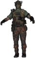 Mercenaires Mitraillettes BO2
