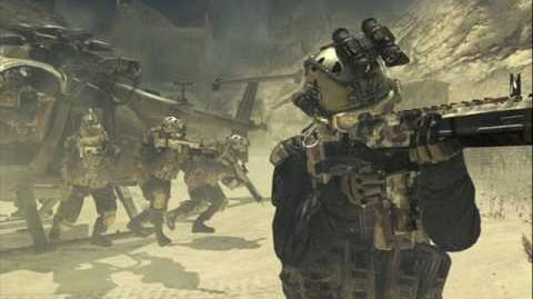 Call of Duty Modern Warfare 2 - Shadow Company Afghan Cave Network Radio Chatter