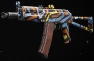 AK-74u Funkadelic Gunsmith BOCW