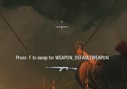 Default weapon pickup BO