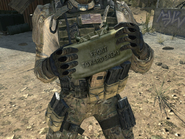 Claymore 3rd Person MW3