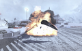 MiG-29 blowing up Cliffhanger MW2