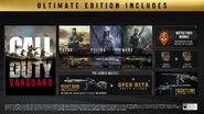 Ultimate Edition Bonuses CODV