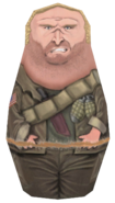 Tank Dempsey Matryoshka Doll model BO