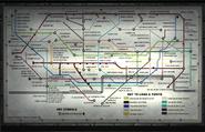 Tube Map Underground MW3