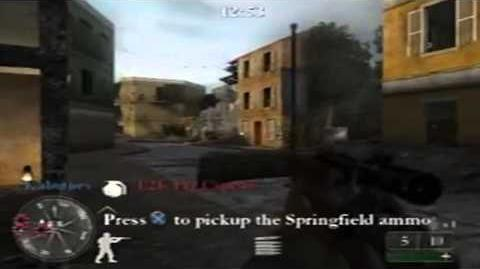 Call of Duty 2 Big Red One Online Multiplayer Match - Cassino (Domination)