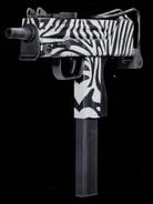 MAC-10 Zebra Gunsmith BOCW