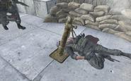 Mortar Team Player MW2