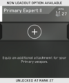 Primary Expert II Unlock Card IW
