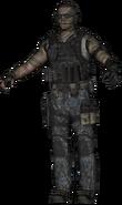 SEAL Team Six SMG model BOII