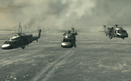 UH-60s Goalpost MW3