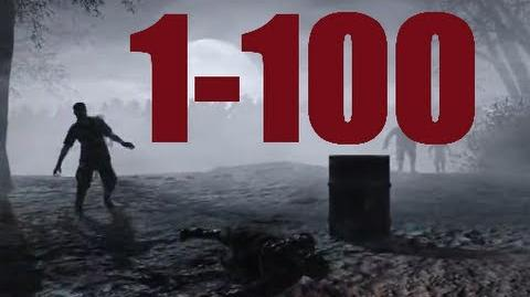 Nacht Der Untoten Rounds 1-100 Full Gameplay - World at War Zombies