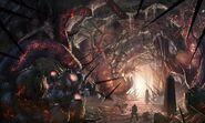 Awakening Extinction Concept Art CoDG