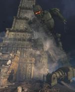 Gigant Leaning against Tower GorodKrovi BOIII