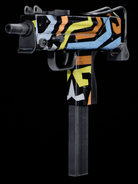 MAC-10 Funkadelic Gunsmith BOCW