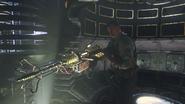 Richtofen with the Wunderwaffe third-person BO3