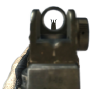 M16A4 Iron Sights MW3