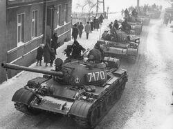T-55A Martial law Poland