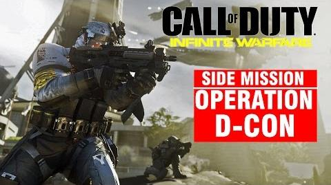 Call of Duty Infinite Warfare Side Mission - Operation D-CON Campaign Gameplay Walkthrough COD IW