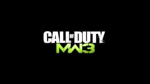 Call of Duty Modern Warfare 3 GIGN Spawn Theme